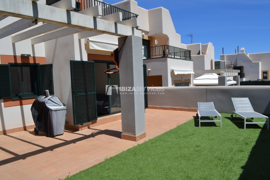 Townhouse Cala Tarida 3 bedrooms with sea views perspectiva 5