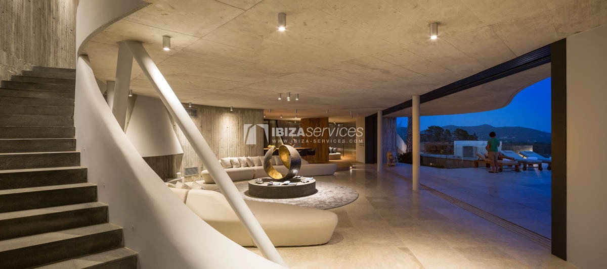 Amazing  design villa Es cubells for rent perspectiva 20