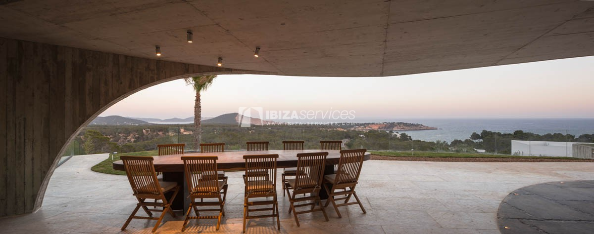 Amazing  design villa Es cubells for rent perspectiva 24