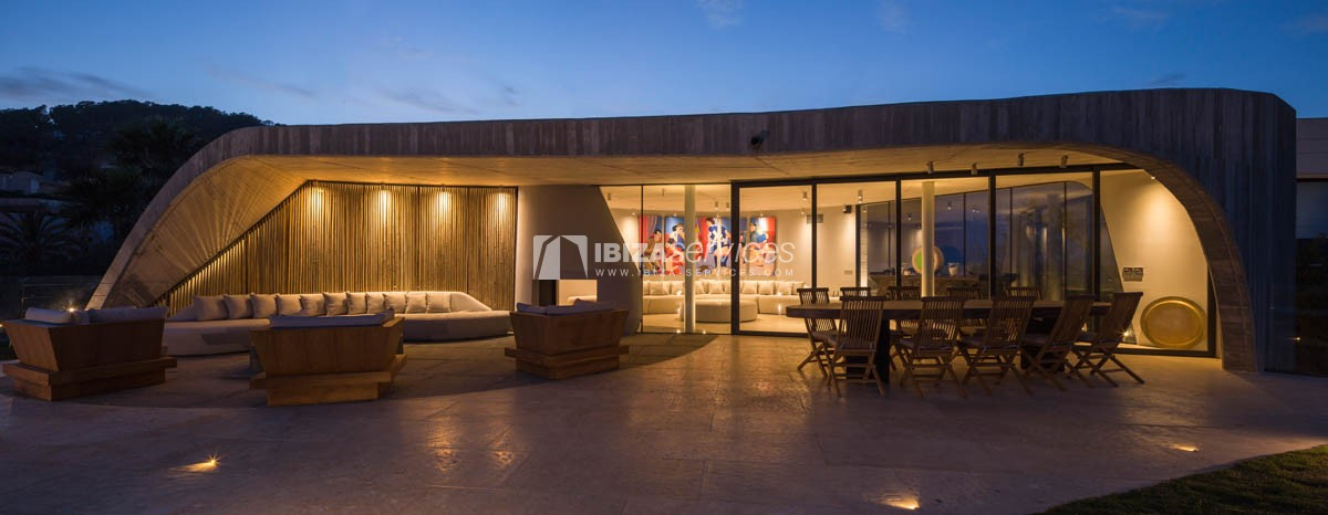 Amazing  design villa Es cubells for rent perspectiva 26