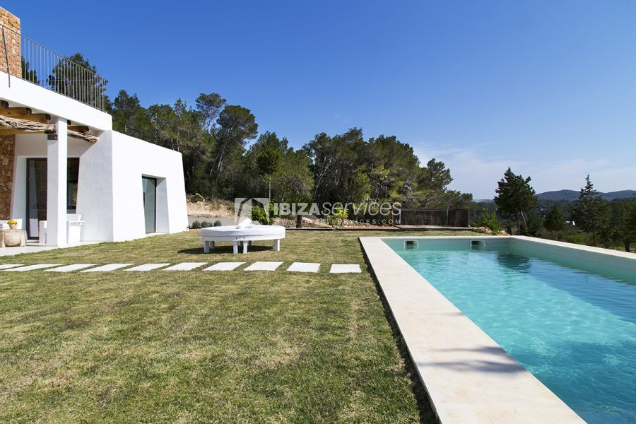 Brand new house near Sant Rafael for summer rent perspectiva 36