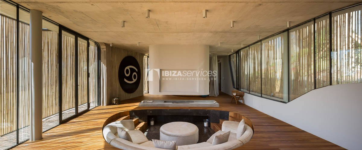 Amazing  design villa Es cubells for rent perspectiva 29