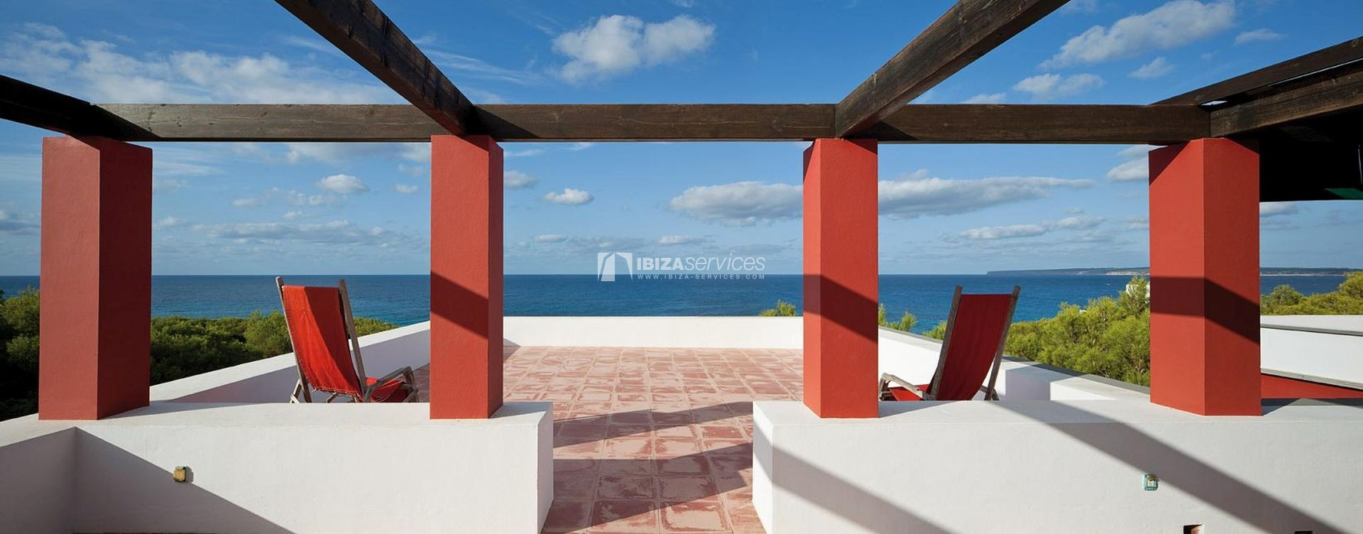 Villa for sale Formentera with amazing sea views perspectiva 2