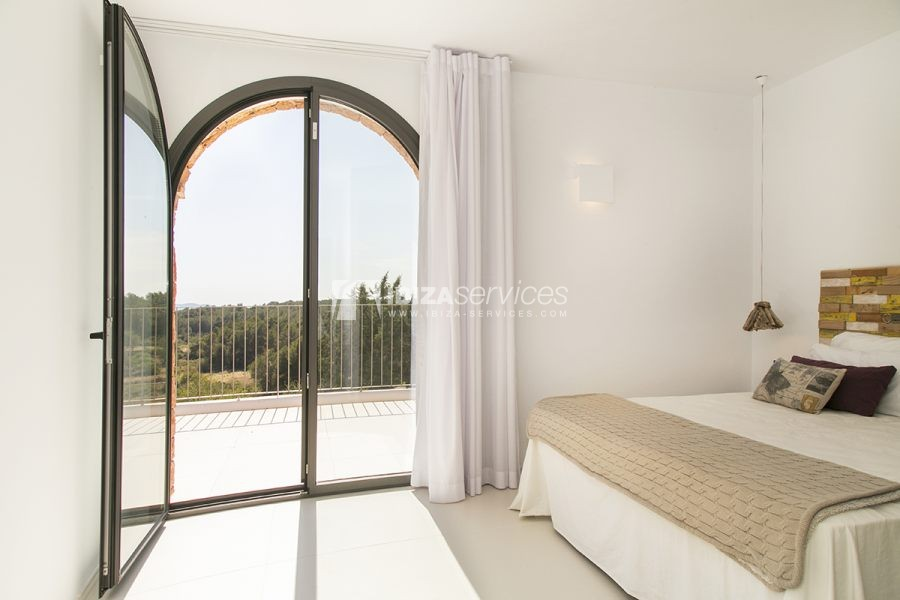 Brand new house near Sant Rafael for summer rent perspectiva 39