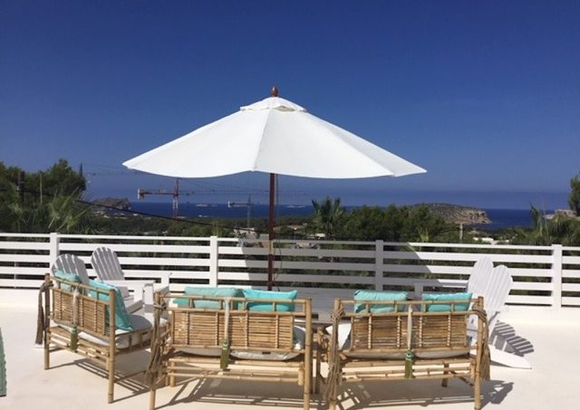 Rent modern villa Sea view Cala Conta