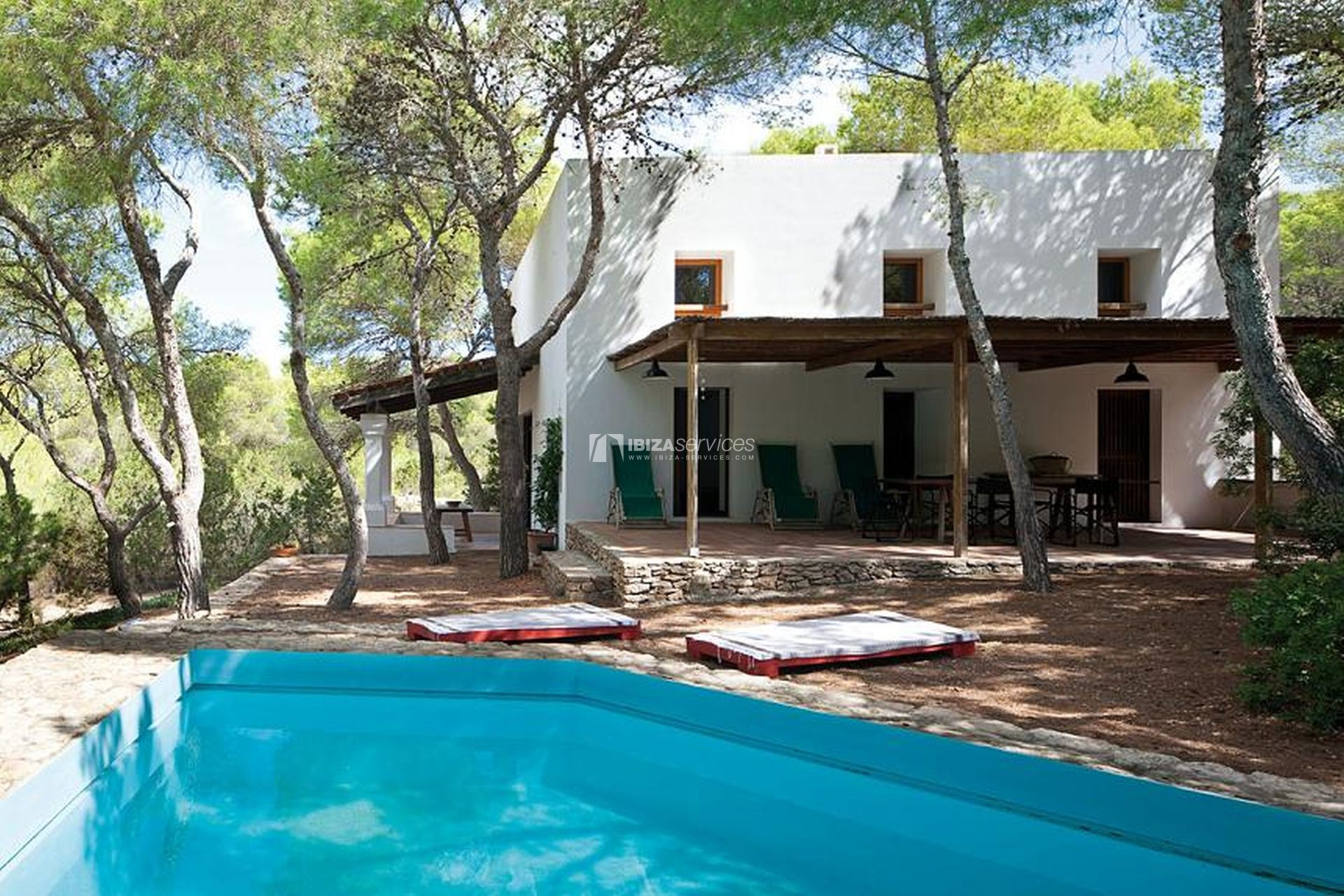 4 bedroom Villa for rent in Formentera perspectiva 2