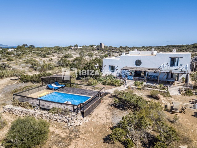 Sea view villa Formentera for perfect holidays perspectiva 1