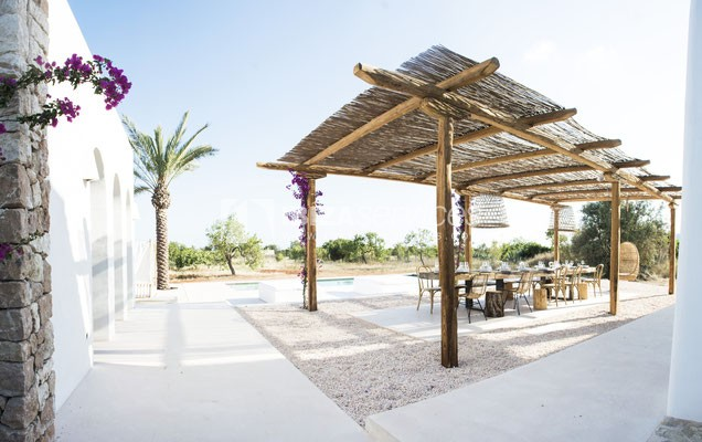Authentic Ibiza style villa KM5 for 20 people groups perspectiva 32
