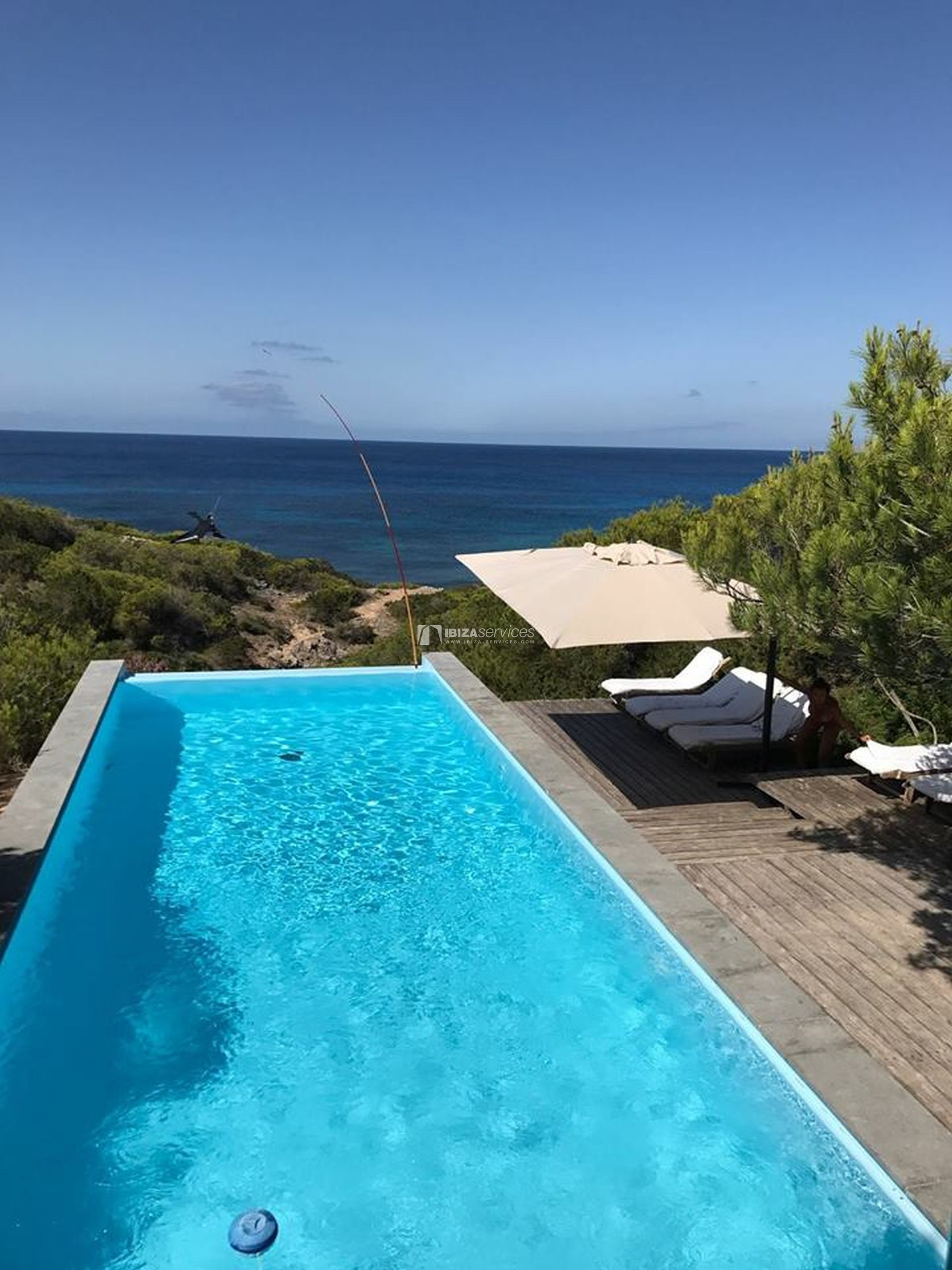 Villa for sale Formentera with amazing sea views perspectiva 46