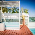 Villa with panoramic city and sea view St.Eulalia