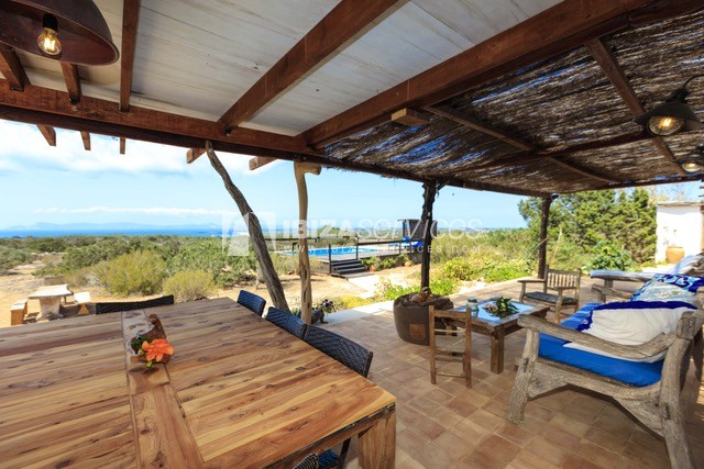 Sea view villa Formentera for perfect holidays perspectiva 18