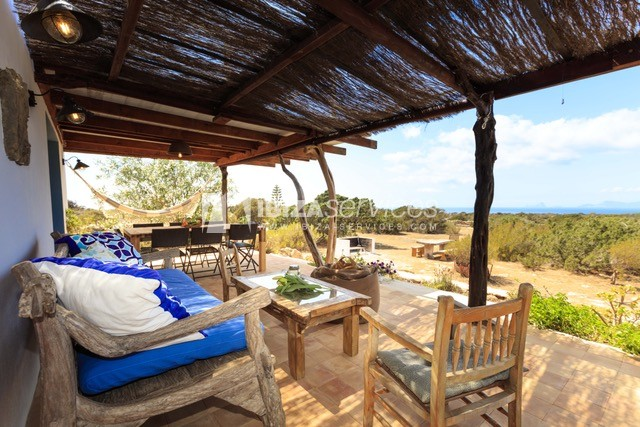 Sea view villa Formentera for perfect holidays perspectiva 20