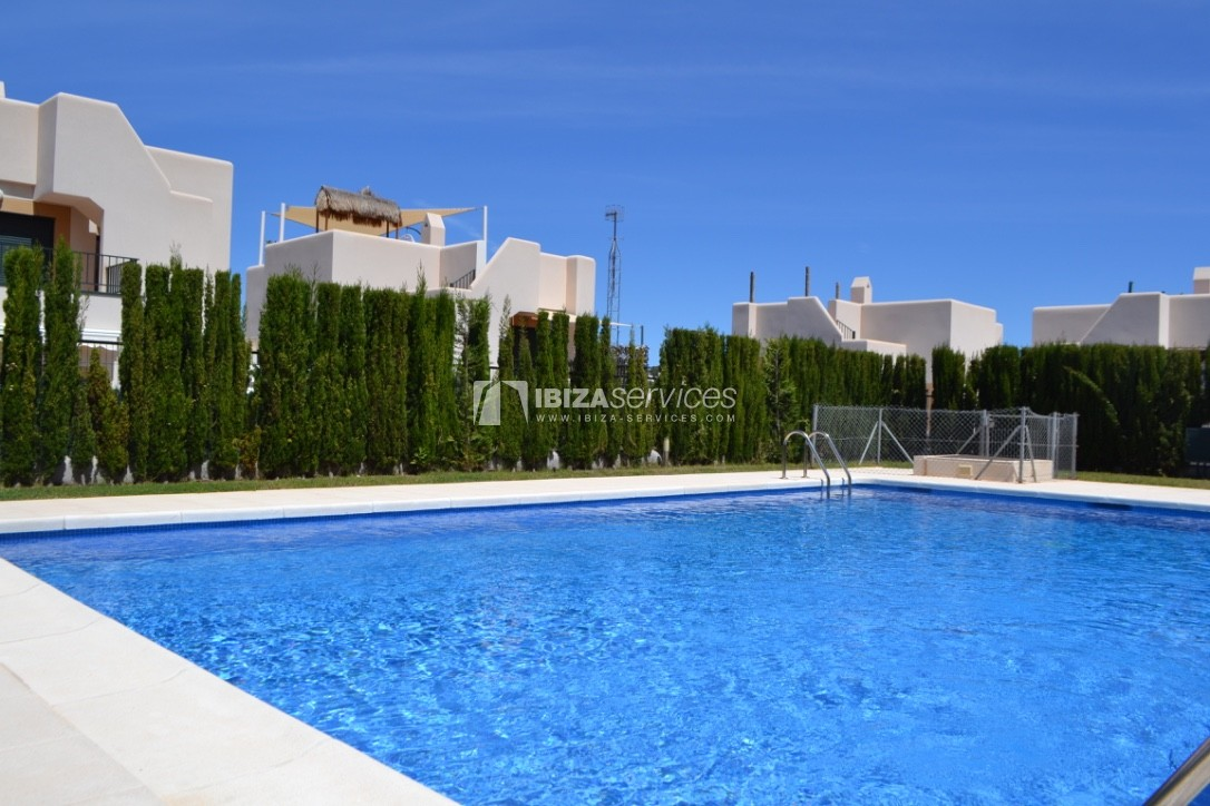 Townhouse Cala Tarida 3 bedrooms with sea views perspectiva 3