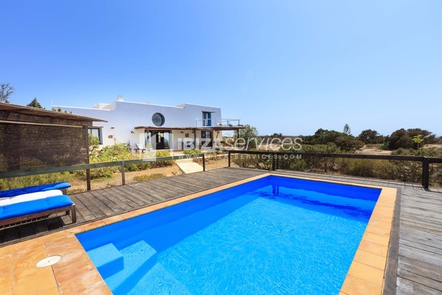 Sea view villa Formentera for perfect holidays perspectiva 22