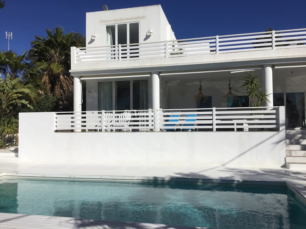 Rent modern villa Sea view Cala Conta perspectiva 3