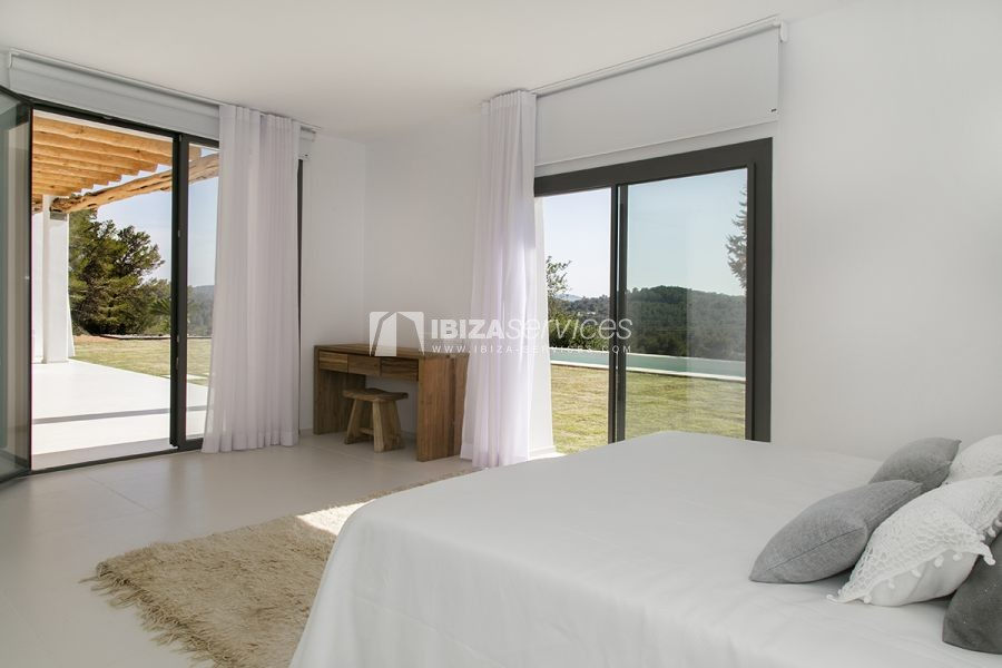 Brand new house near Sant Rafael for summer rent perspectiva 19