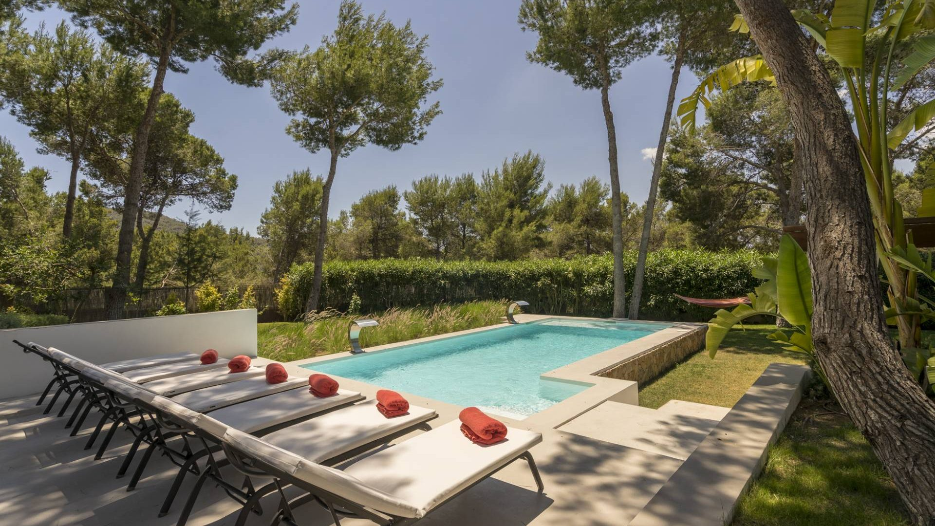 Ibiza holiday villa Andrea Can Furnet 4 bedrooms