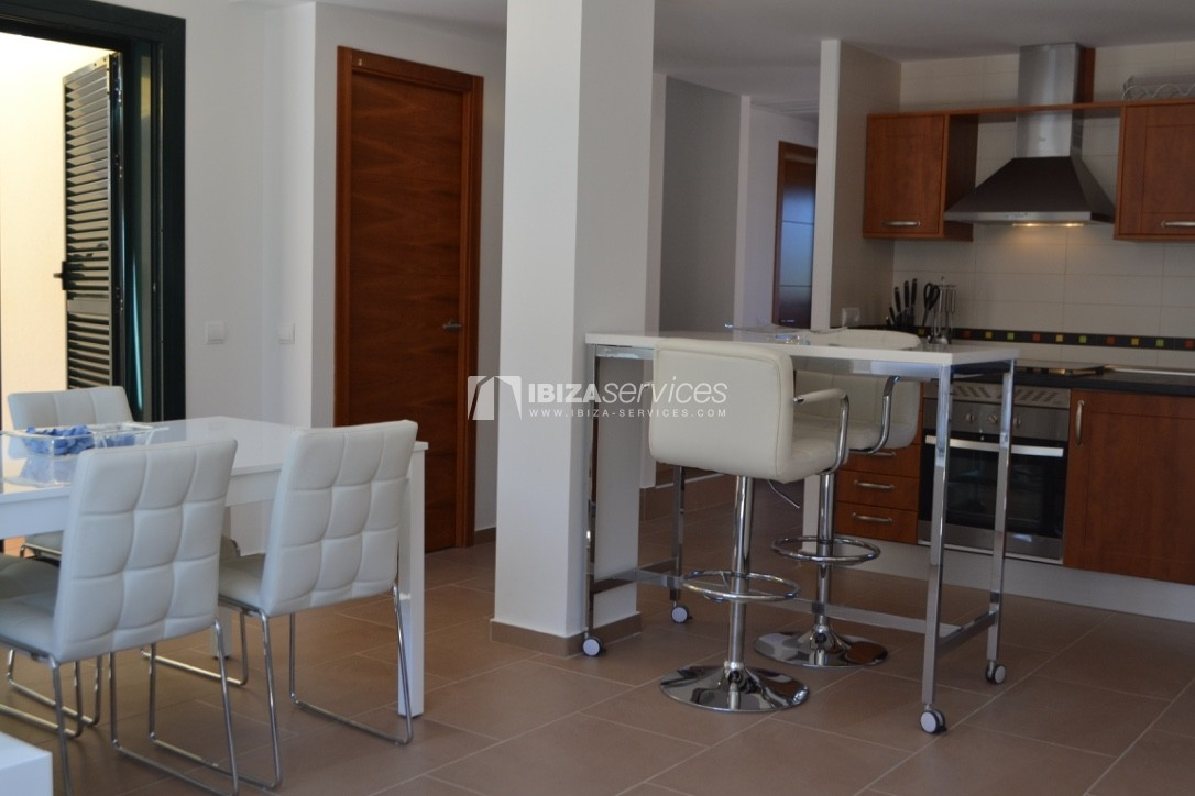 Townhouse Cala Tarida 3 bedrooms with sea views perspectiva 9
