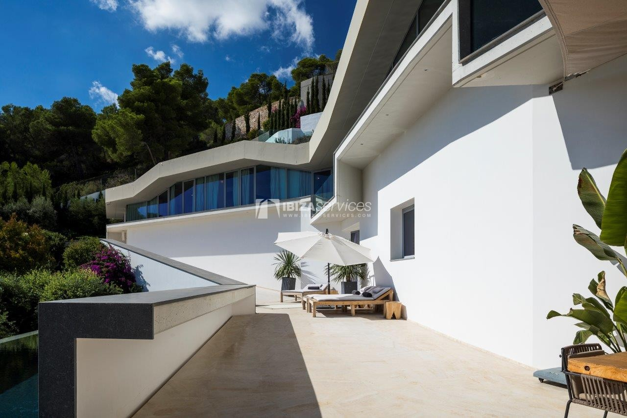 Vagabunda Roca llisa villa for rent Ibiza perspectiva 2