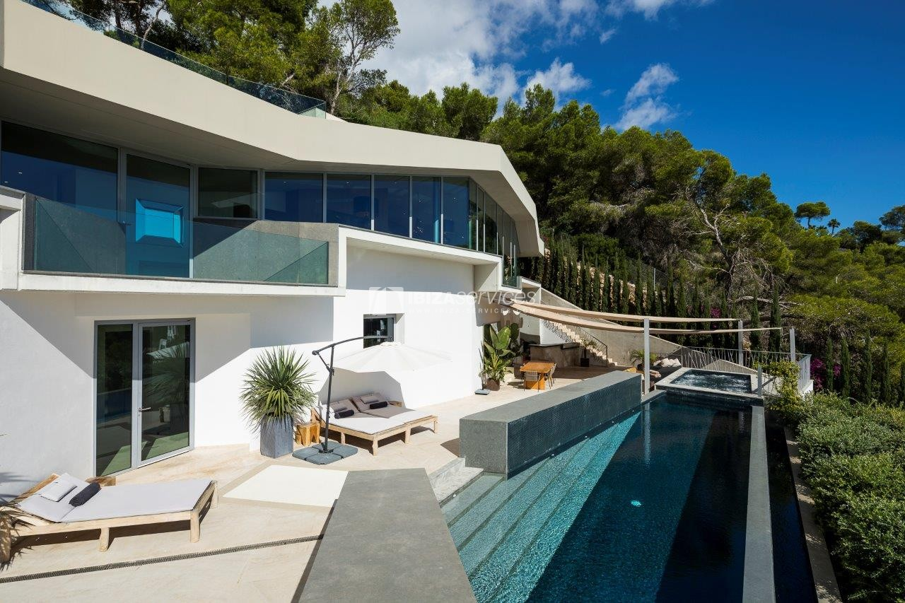Vagabunda Roca llisa villa for rent Ibiza perspectiva 6