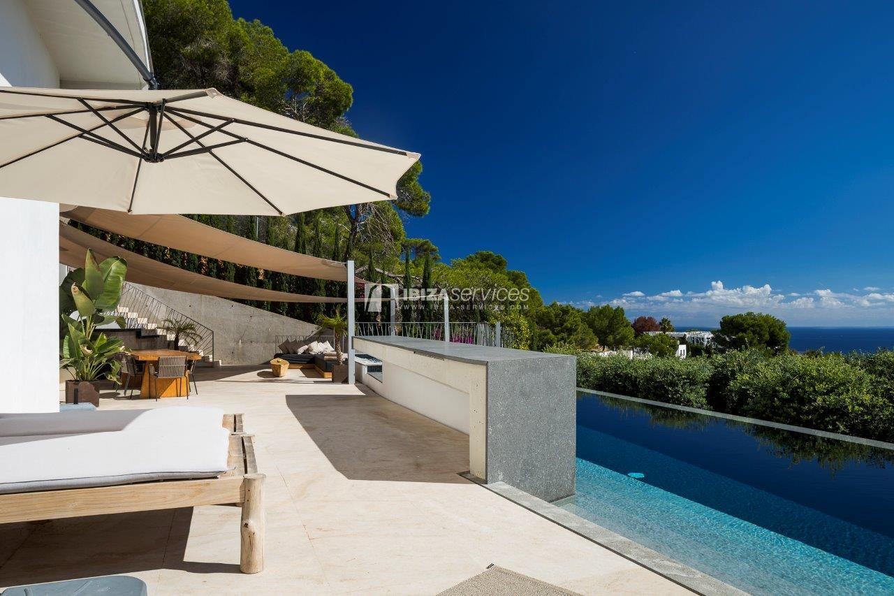 Vagabunda Roca llisa villa for rent Ibiza perspectiva 7