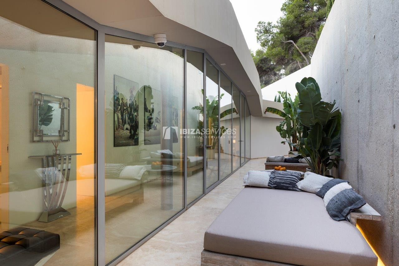 Vagabunda Roca llisa villa for rent Ibiza perspectiva 46