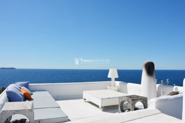 Villa with stunning sea and sunset views near Cala Gracio