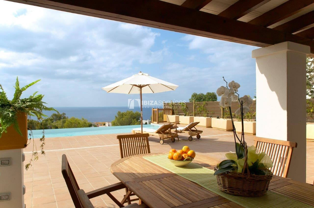 Cala Codolar villa vacation rentals 3 bedrooms with tennis court perspectiva 10