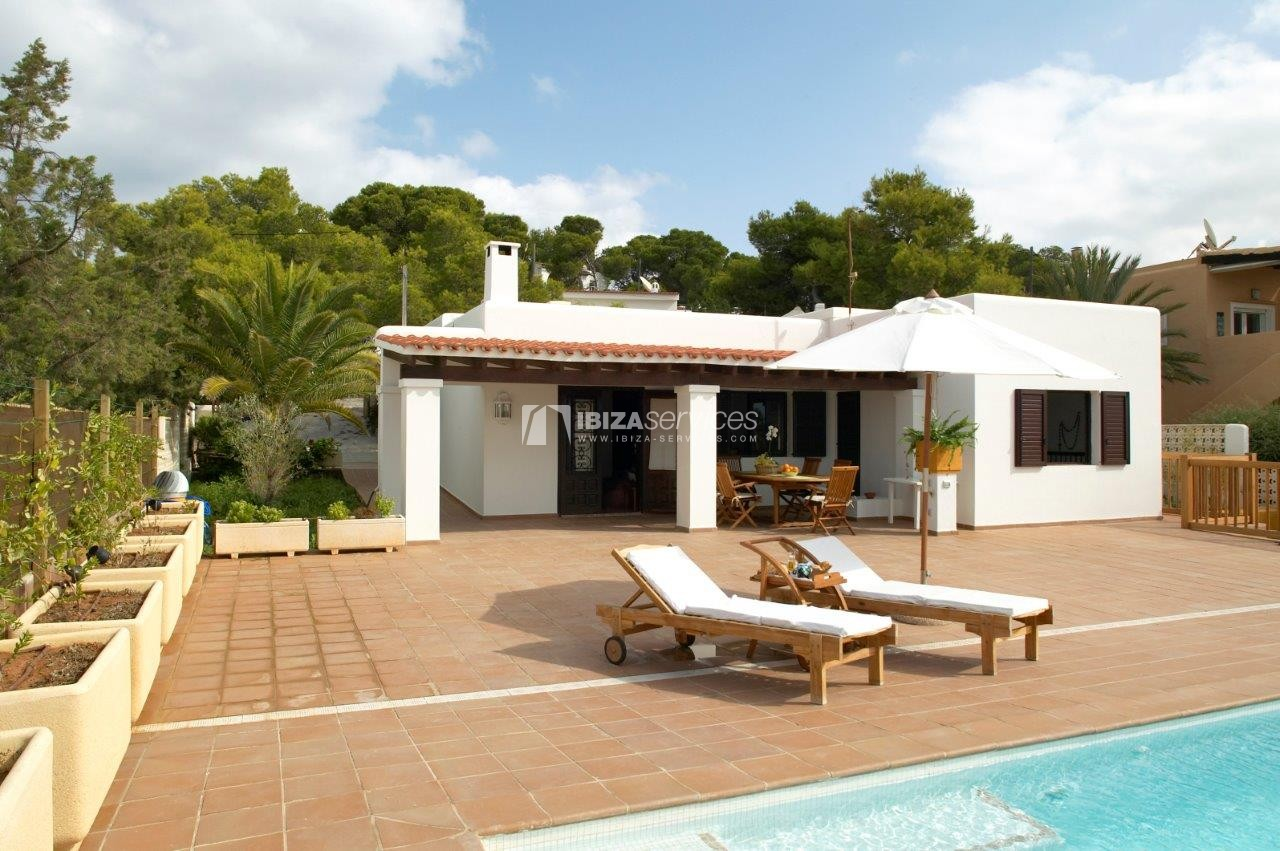 Cala Codolar villa vacation rentals 3 bedrooms with tennis court perspectiva 9