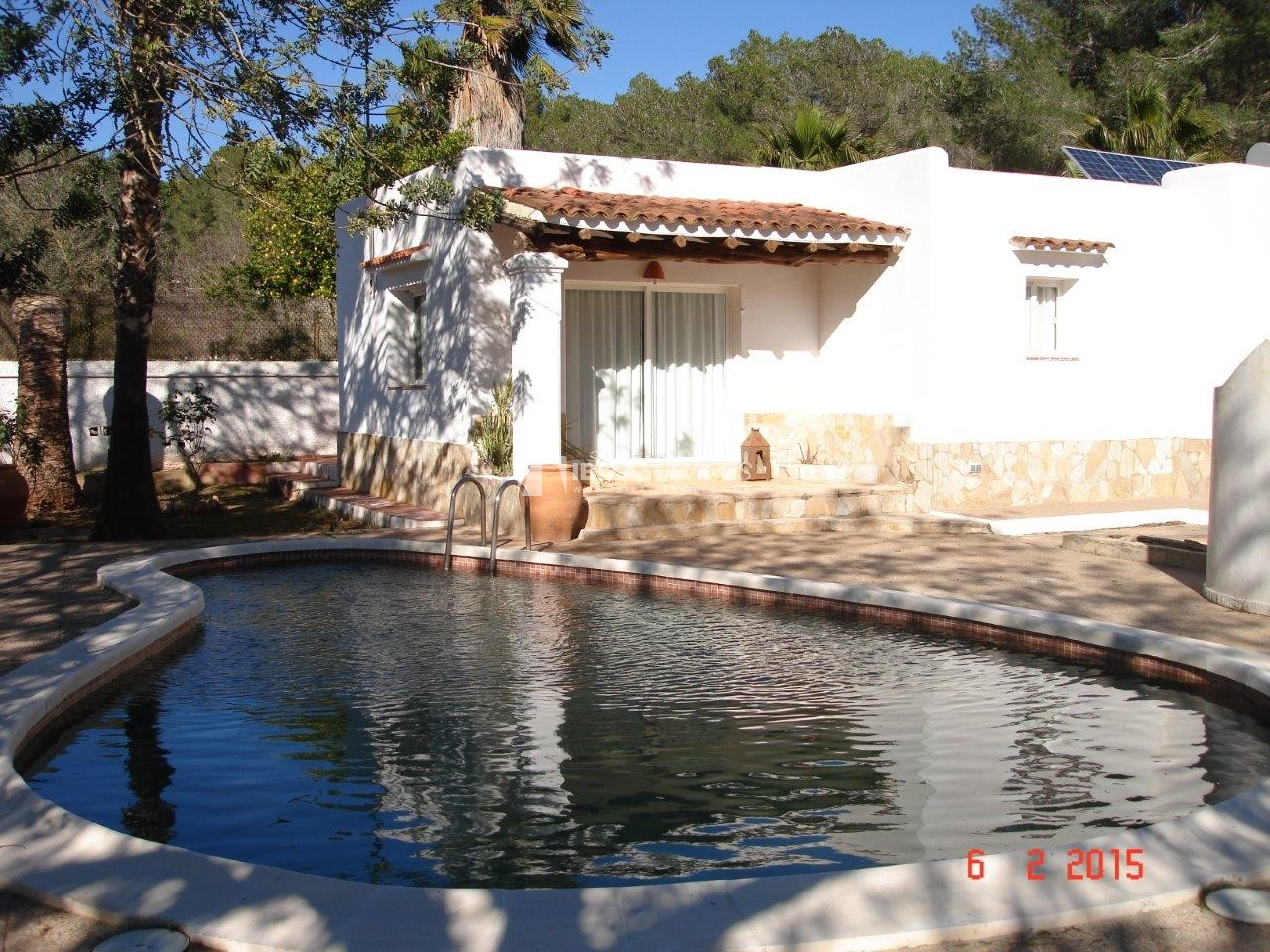 House for sale with tennis court in Sant Rafael perspectiva 3