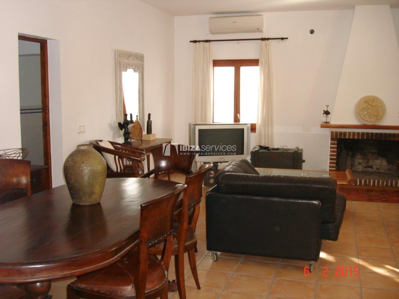 House for rent with tennis court in Sant Rafael perspectiva 4