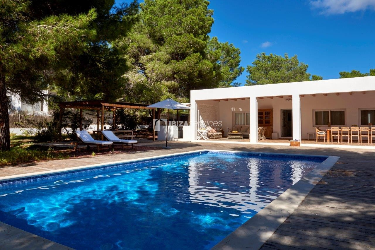 Holiday rental Cala Jondal charming villa for rent perspectiva 57