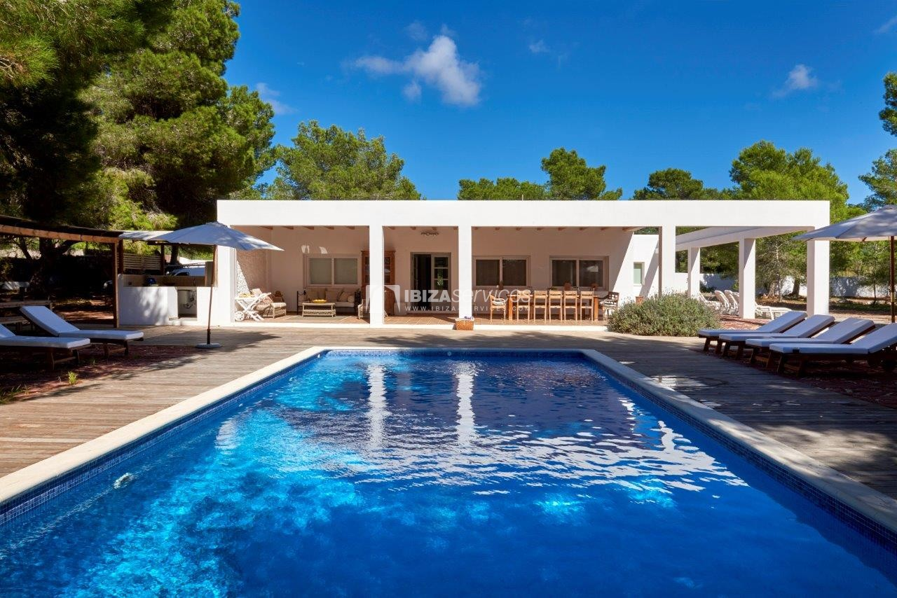 Holiday rental Cala Jondal charming villa for rent perspectiva 58