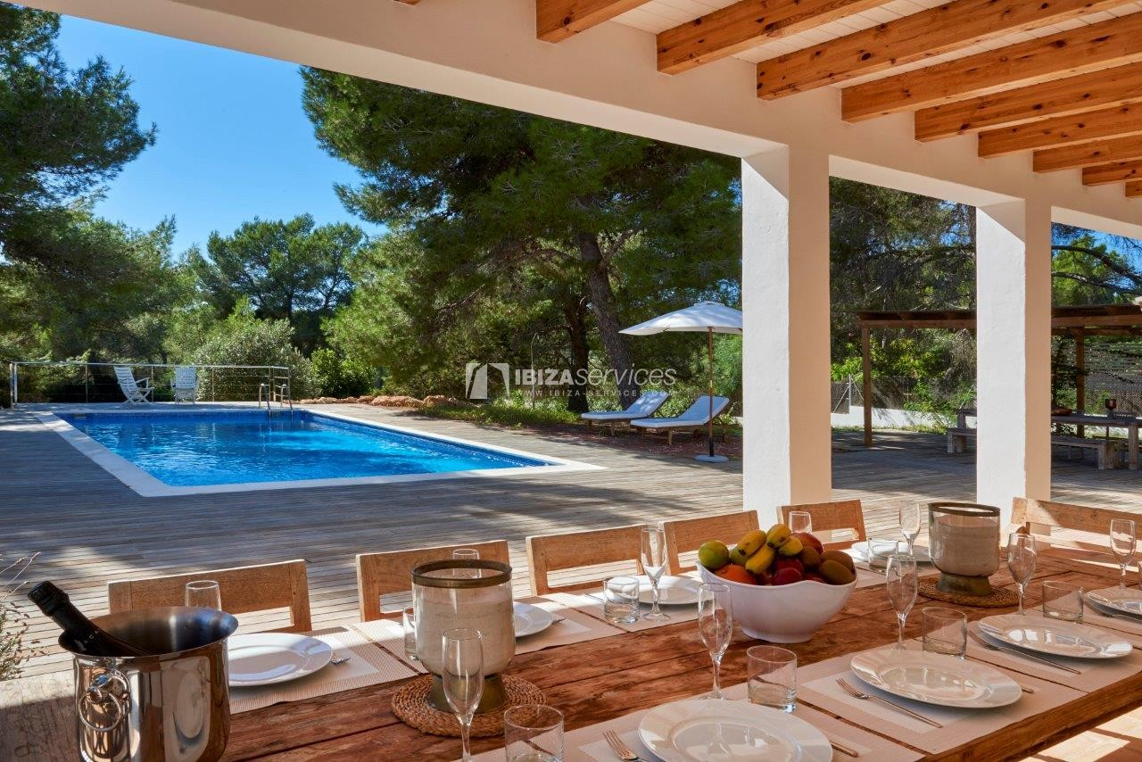 Holiday rental Cala Jondal charming villa for rent perspectiva 60