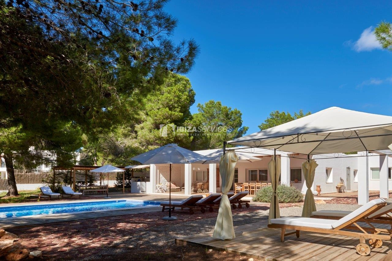 Holiday rental Cala Jondal charming villa for rent perspectiva 61