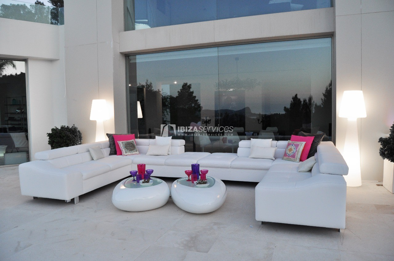 Luxury 8 bedrooms Ibiza villa Elisabeth to rent perspectiva 34