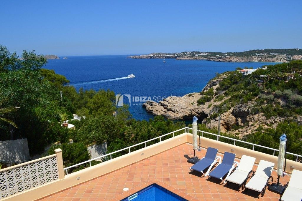 7 bedroom villa overlooking the sea Cala Moli perspectiva 5