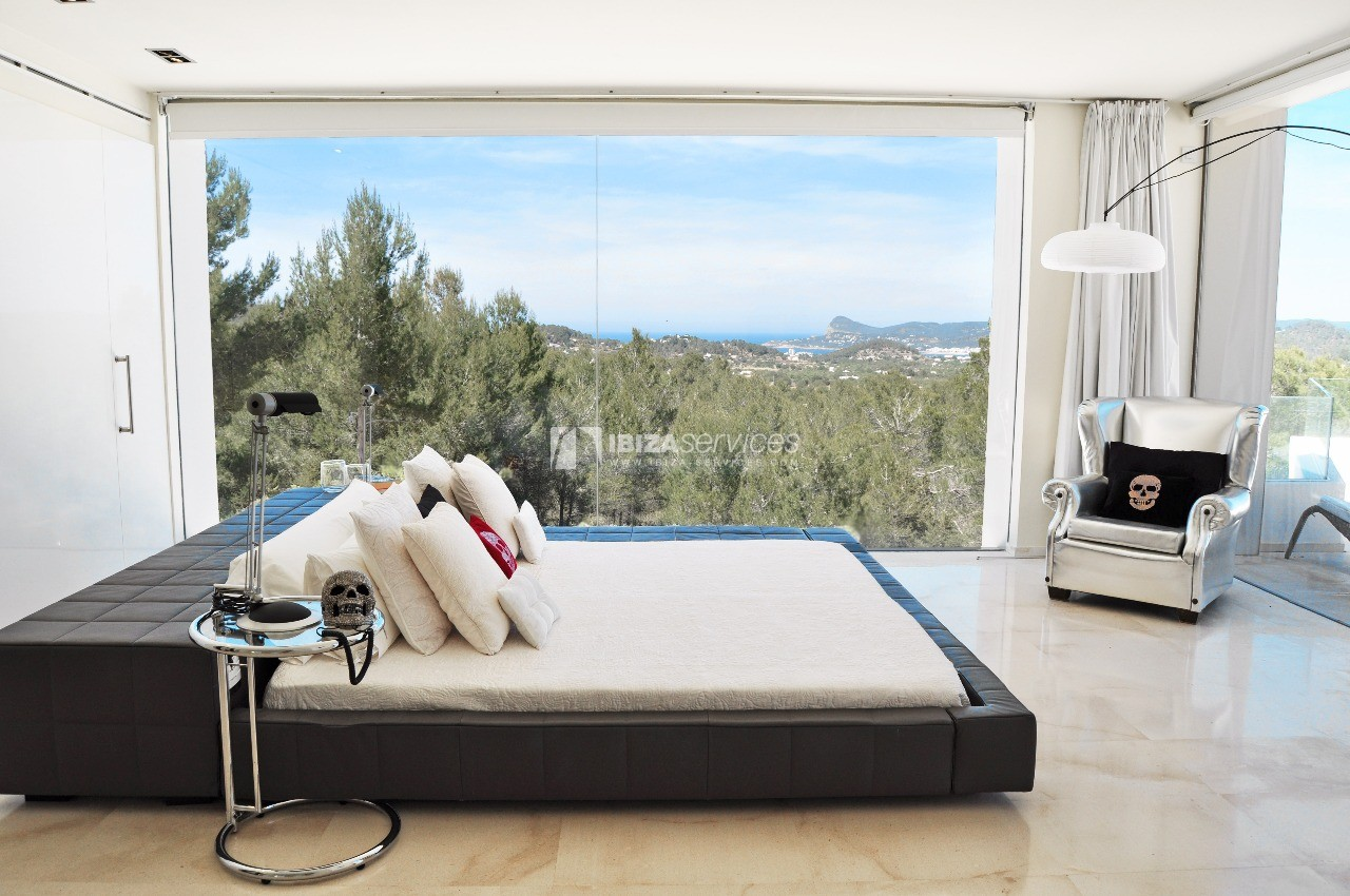 Luxury 8 bedrooms Ibiza villa Elisabeth to rent perspectiva 37
