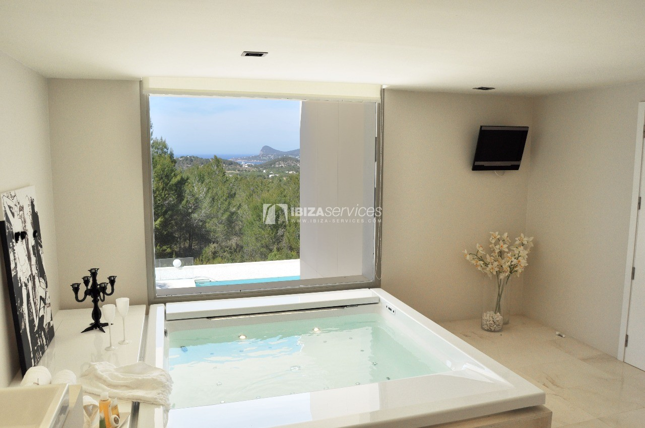 Luxury 8 bedrooms Ibiza villa Elisabeth to rent perspectiva 45