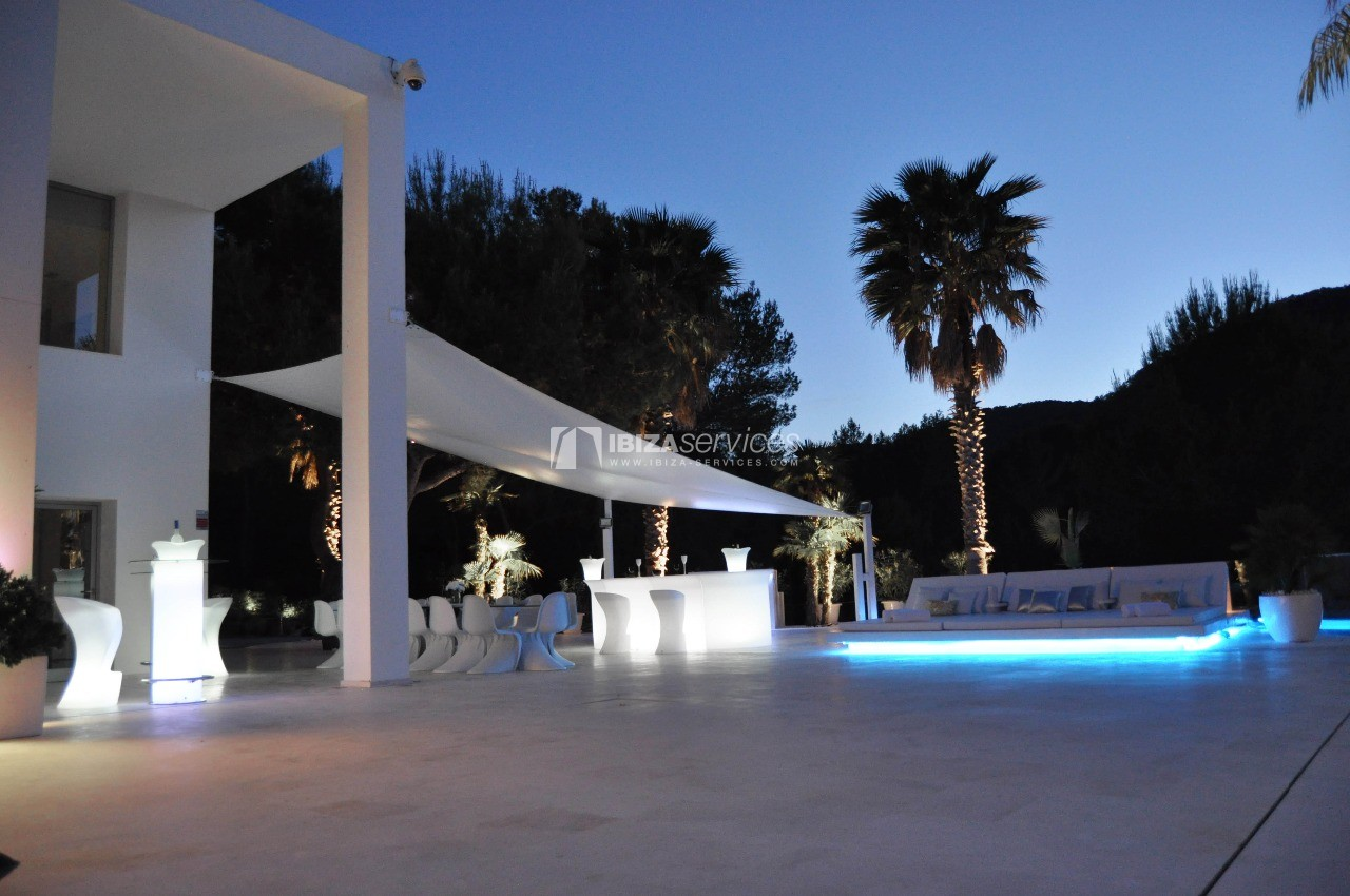 Luxury 8 bedrooms Ibiza villa Elisabeth to rent perspectiva 46