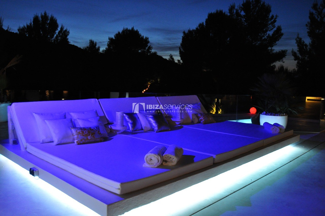 Luxury 8 bedrooms Ibiza villa Elisabeth to rent perspectiva 55
