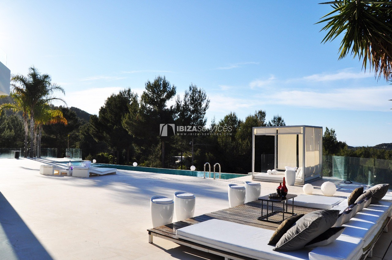 Luxury 8 bedrooms Ibiza villa Elisabeth to rent perspectiva 58