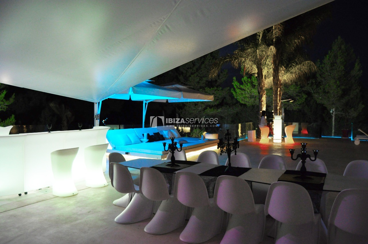 Luxury 8 bedrooms Ibiza villa Elisabeth to rent