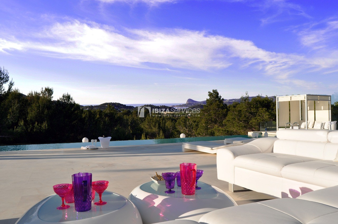 Luxury 8 bedrooms Ibiza villa Elisabeth to rent perspectiva 66