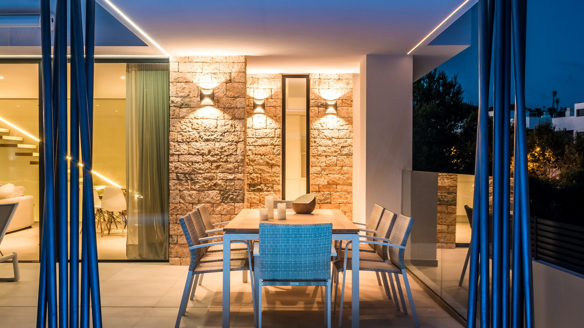 Beautiful newly build villa in Talamanca for sale