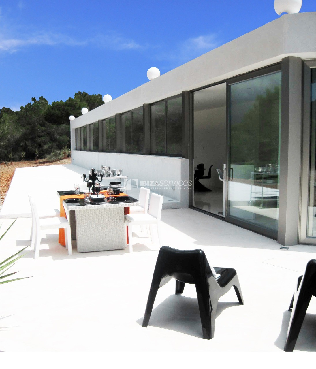 Luxury 8 bedrooms Ibiza villa Elisabeth to rent perspectiva 8