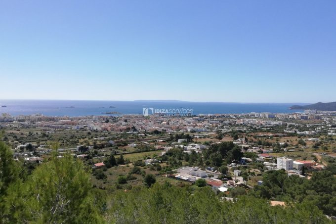 Buy building land Ibiza sea view with license