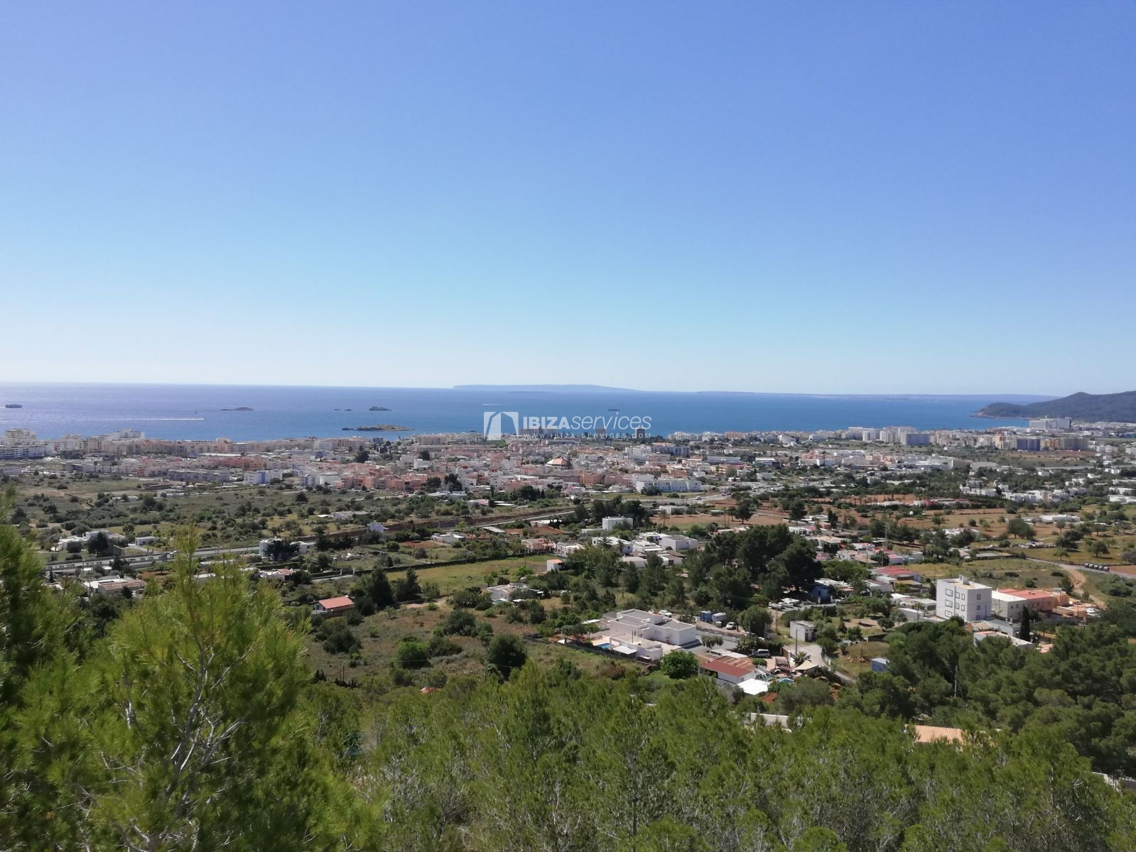 Buy building land Ibiza sea view with license perspectiva 1