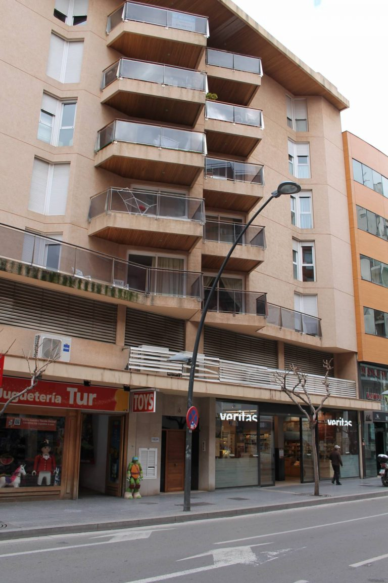Downtown Ibiza 3 bedroom apartment 5º floor