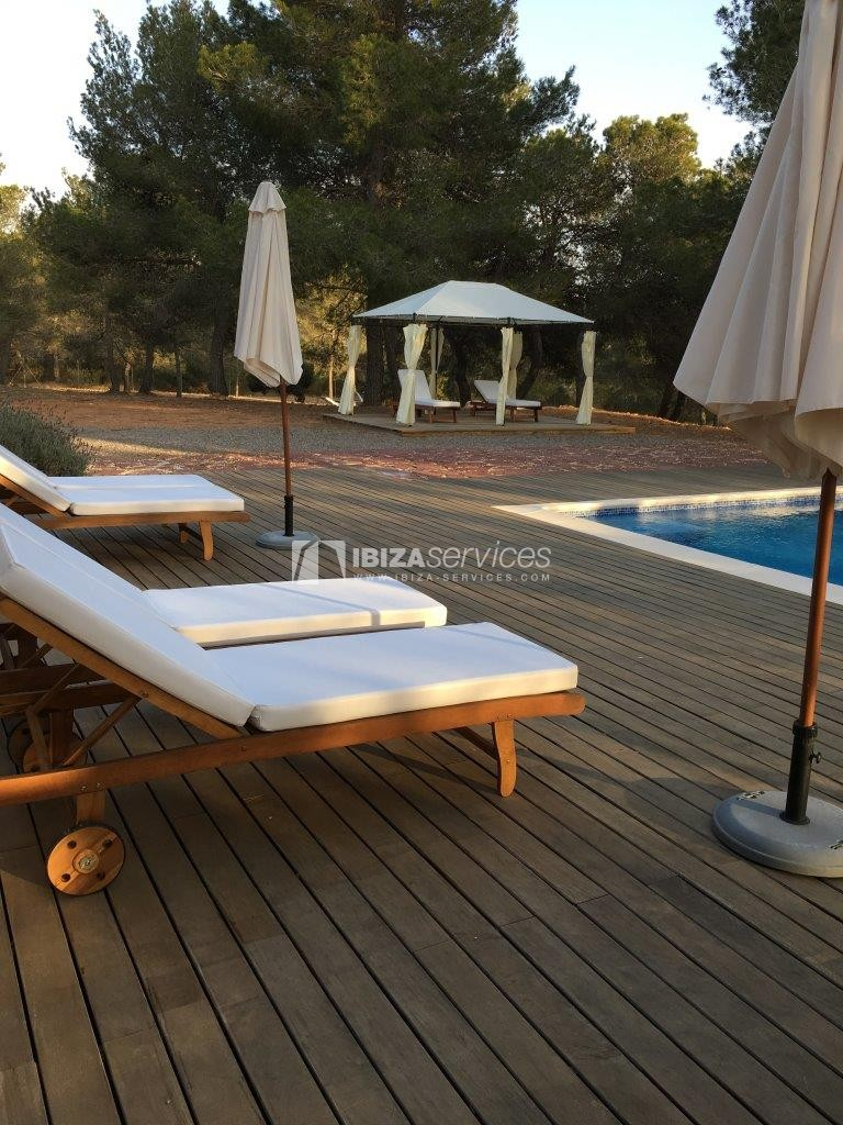 Holiday rental Cala Jondal charming villa for rent perspectiva 19